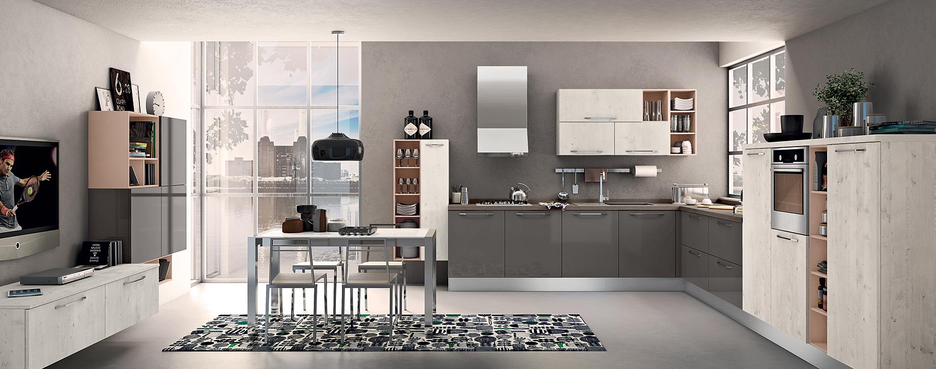 Mobilificio europa cucine lube stosa for Mobili design