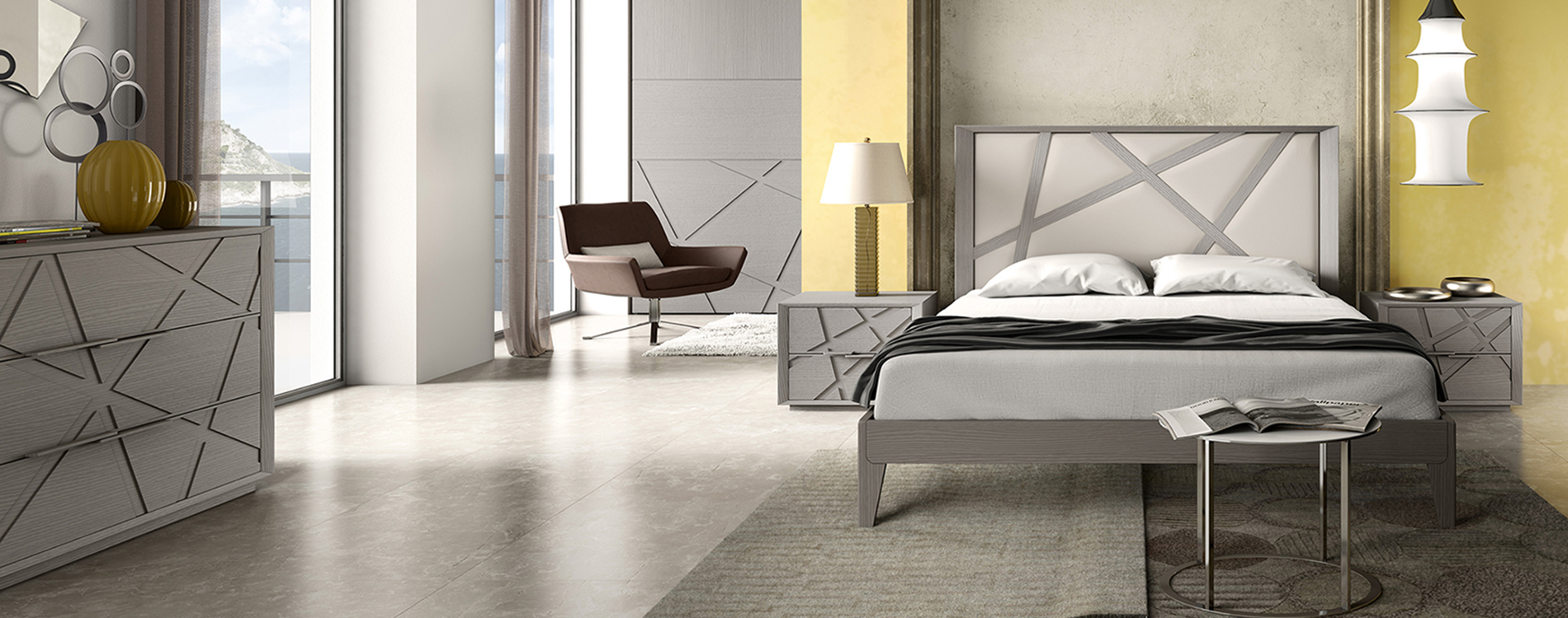 Letto da camera comodini idee - Mobili da camera da letto ...