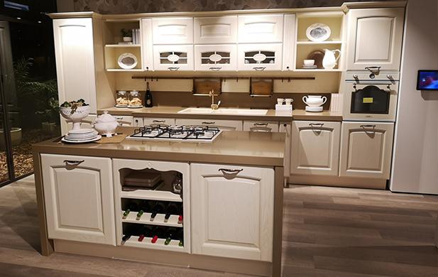 Cucina Con Isola Veronica Firmata Lube